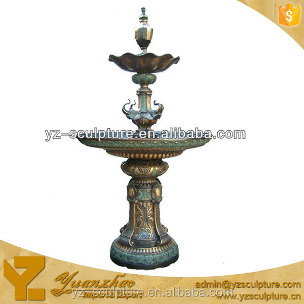 brass cast home interior water fountain for sale