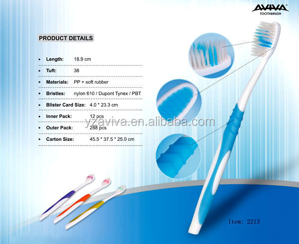 China wholesale nylon and oral care toothbrush