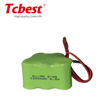 NI-MH Battery Pack Rechargeable battery Size 2/3aa lithium battery