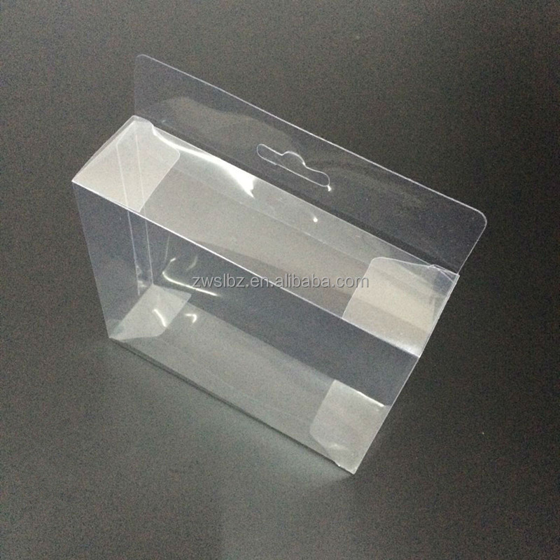 ZHENWEI PET PVC clear box packaging clear sneaker box