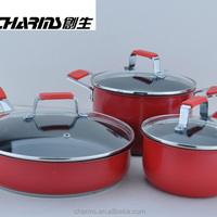 Colorful Pretty Aluminum Induction Pots And