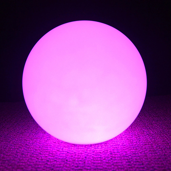 Color Led Sphere Light Glow Swimming Pool Ball 8 cm Colorful Floating Led Ball Light