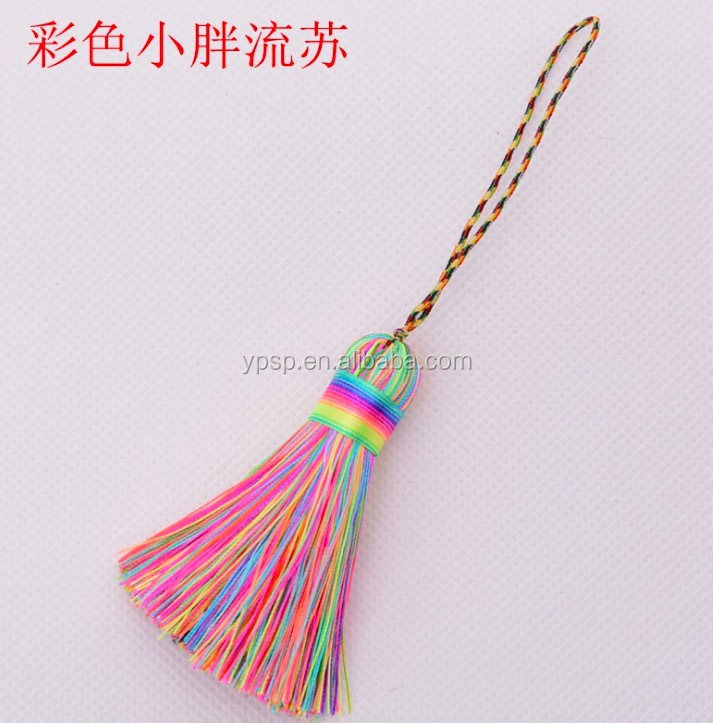 Pom Pom Style mini tassel for jewelry Decoration