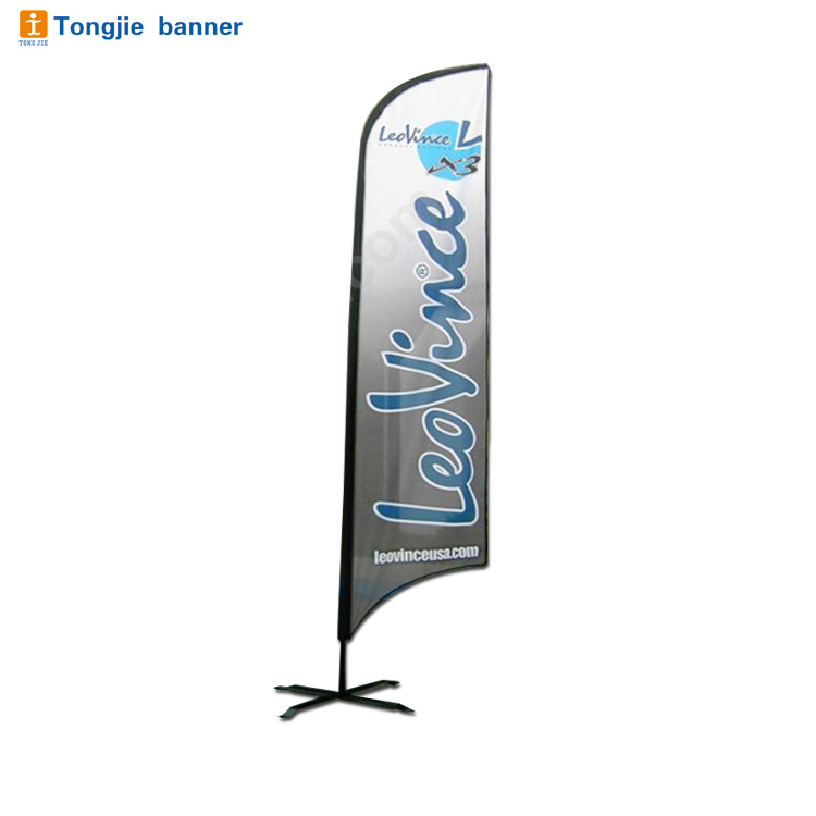 Customized knife flag,beach banner,feather flag flying banner