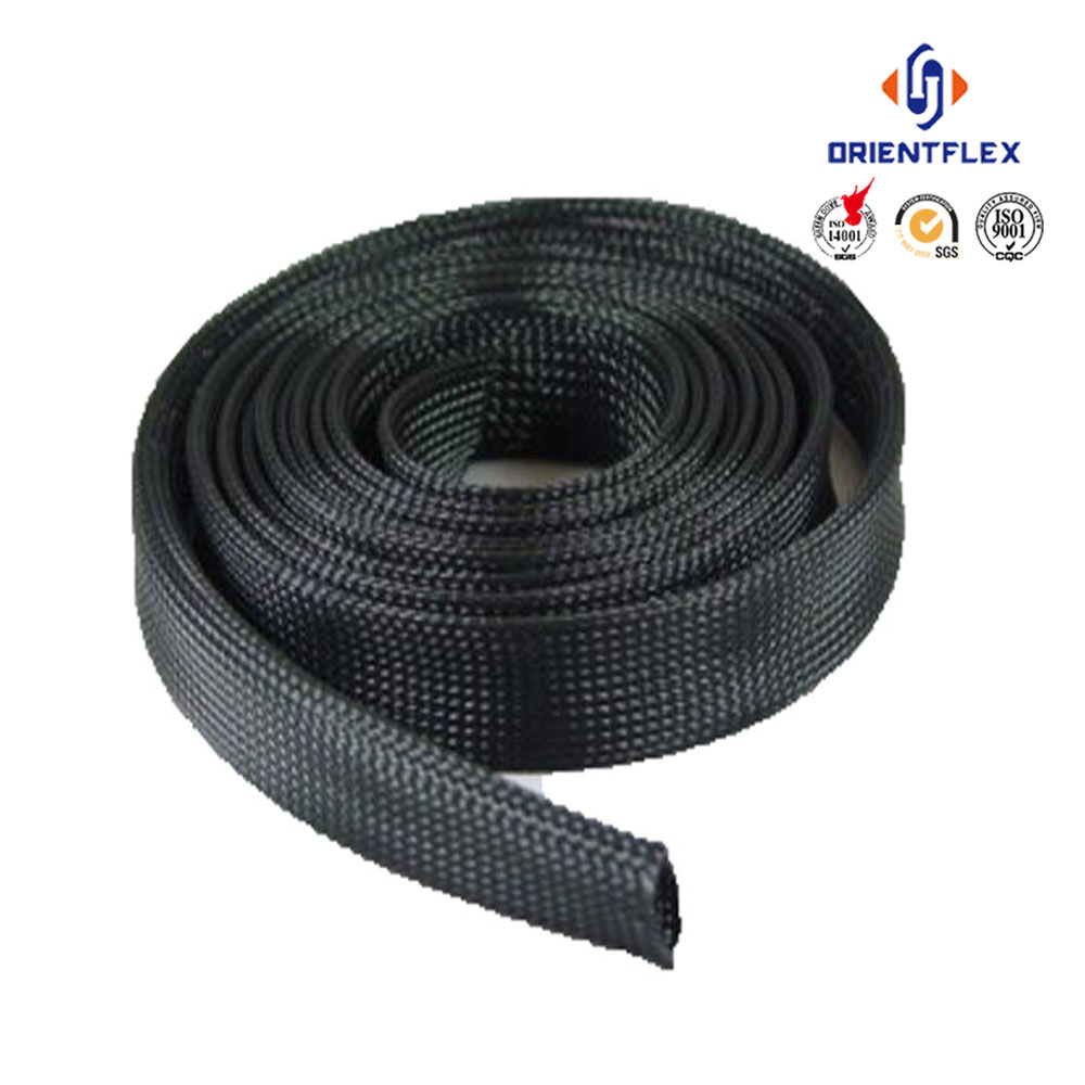 China manufacturer flexible UV resistant pa nylon protective hose sleeve manufacturers