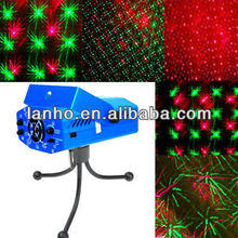Mini Red-Green Moving Party Stage Laser Light Projector Blue