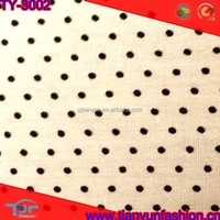 100% cotton poplin 40/1 poplin cotton fabric polk dot cotton fabric design