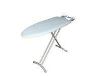 plastic ironing board with 100% cotton cover