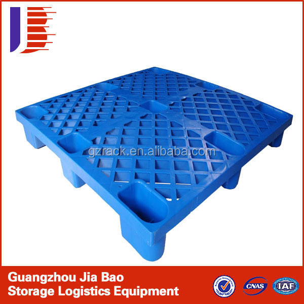 Safe and Recyclable Eco-friendly Hygienic blue 4 way used plastic pallets for sale