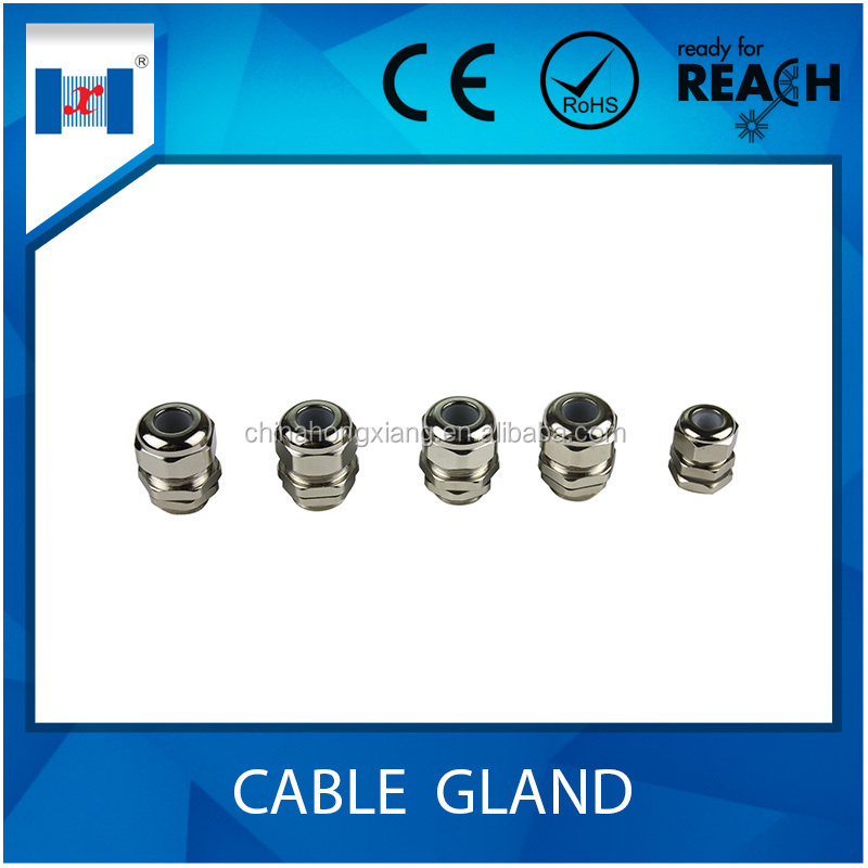 HongXiang types of hawke cable gland IP68 for wire sealing <strong>G</strong>/NPT thread type