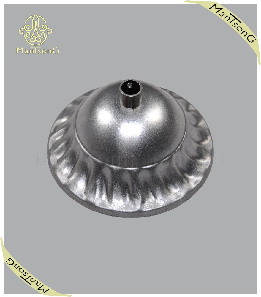 Best selling iron lamp base factory price wholesale hardware fitting round plate
