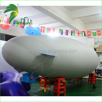 RC Blimp Airship / Outdoor Remote Control Inflatable Zeppelin / Remote Control Gondola