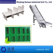 1.5mm Thin Cotton Pvc Longitudinal Rib Conveyor Belt