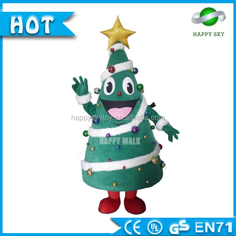Plush Moving Mascot Costume Christmas Tree Christmas Toys