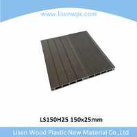 weather-resistant wpc decking green material cheap floor tiles