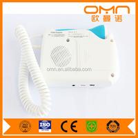 Portable Fetal Doppler Heartbeat Detector with Ultrasonic, Earphone + Recorder Connection