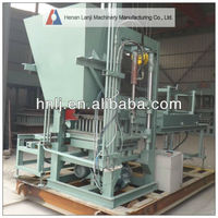 Stable performance small concrete block making machine