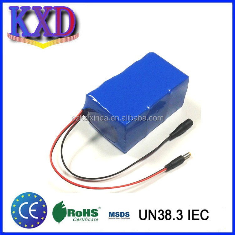 Rechargeable 12V 30ah li-ion battery pack & charger