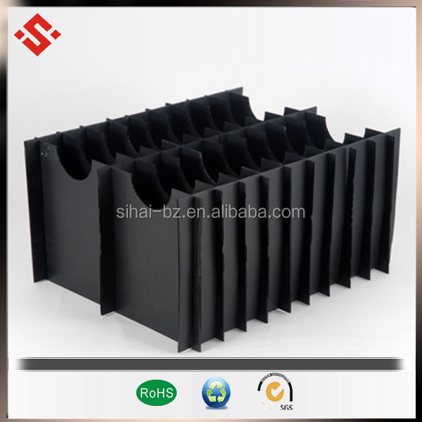 Hot sale for cartonplast plastic pack sheet plastic storage box with divider