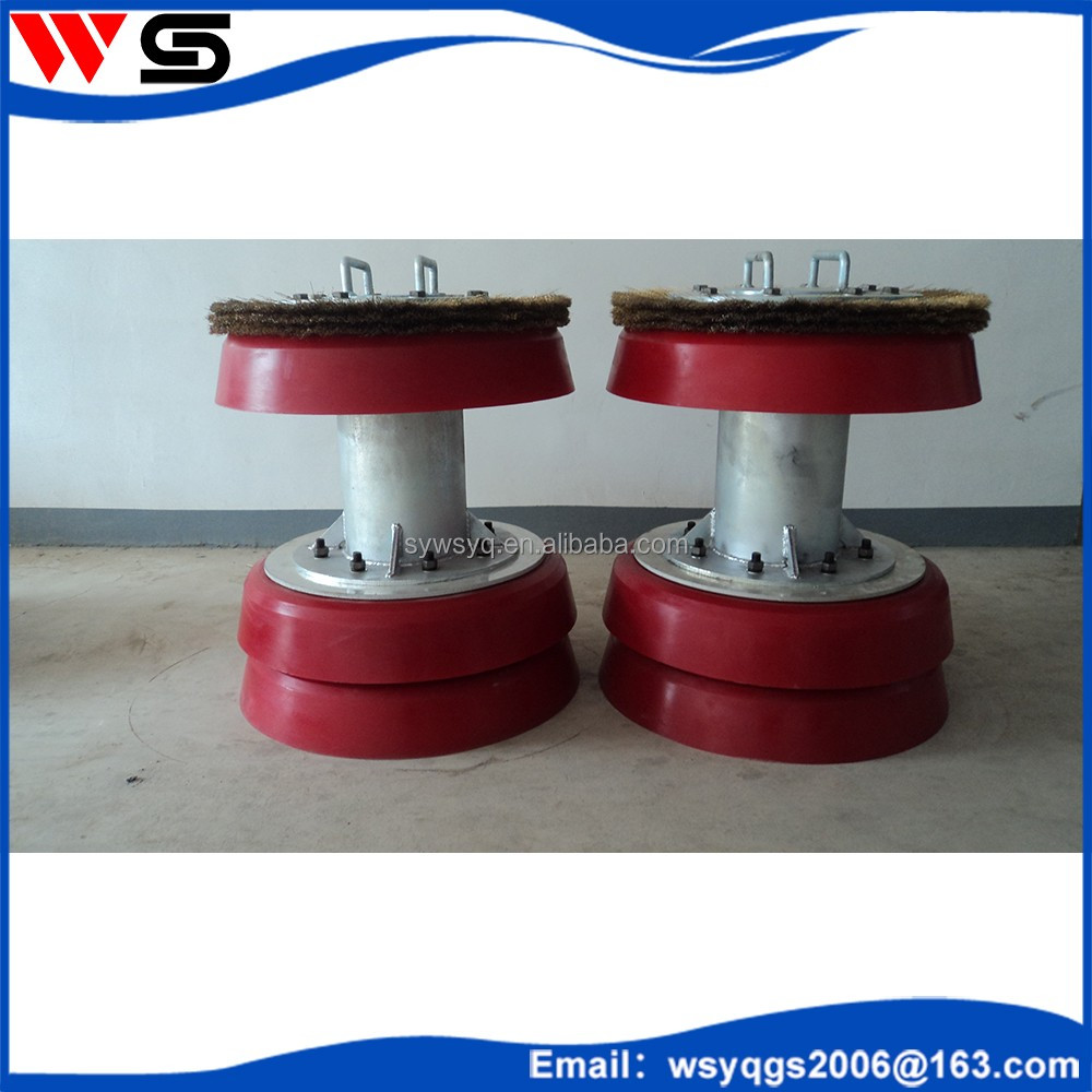 oil /gas /water pipe cleaning machine, elastic guaging pig