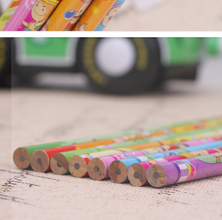New hb pencils with cut for students