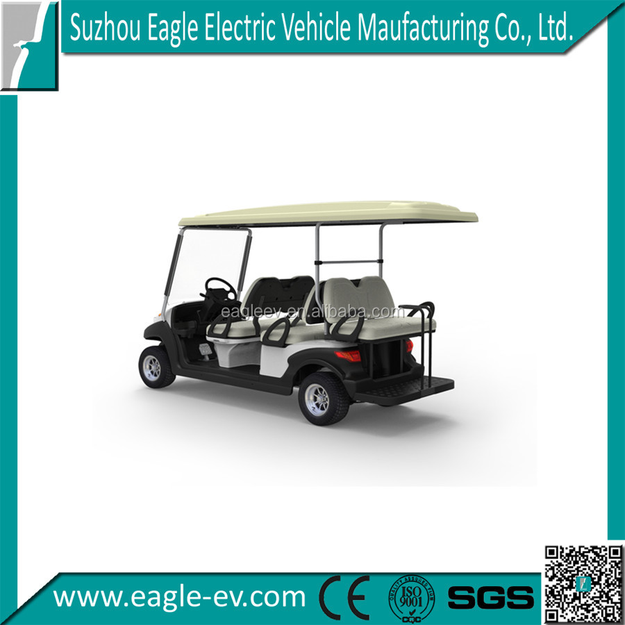 6 Seater golf cart for sale, EG204AKSF, 4+2 model, CE
