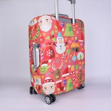 Colorful Spandex OEM Custom Luggage Cover Protector