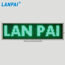 factory programmable scrolling message led sign board
