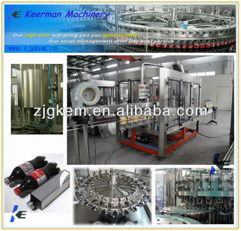 Automatic juice carbonated fruit drinks filling machine