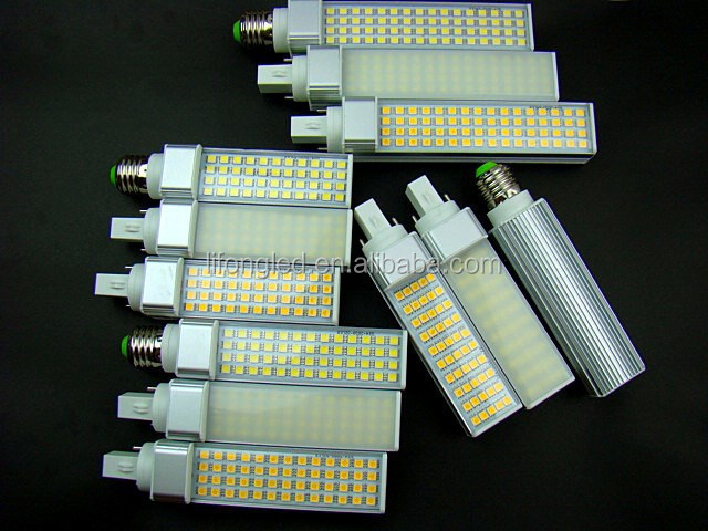 2015 HOT SALE HIGH QUALITY CE&ROHS COMPLIANT G24&E27 5W/7W/9W10W LED PLUG LIGHTS WITH 2YEARS WARRANTY
