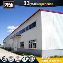 Pre Fabricated Light Gauge Steel Warehouse Used Temporary Warehouse Structures