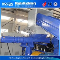 Plastic Film Agglomerated Pellets Machine