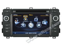 WITSON DVD HEAD UNIT FOR TOYOTA AURIS 2013 WITH RAM 8GB FLASH BLUETOOTH STEERING WHEEL SUPPORT