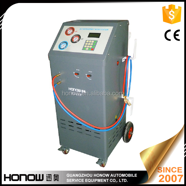 Semi-automatic refrigerant recovery recycle recharge vacuum machine HO-L500
