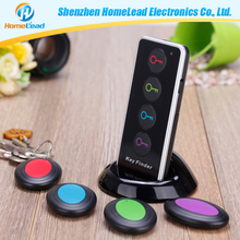2016 2016 new products electronic gift items anti lost alarm key finder with 4 receivers