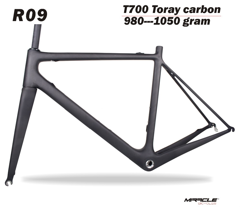 T700 Full carbon bicycle frame 980g super light weight carbon road bike frame Chinese factory carbon frame