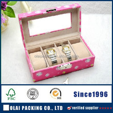 nice women's 4 slots watch case