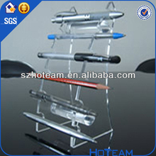 decoration for promotional pen holder acrylic pen display stand
