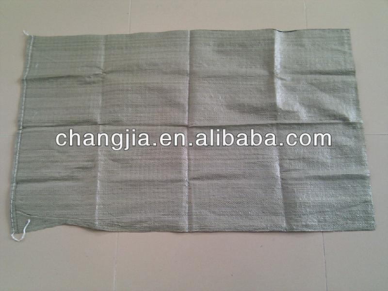 China Recycle polypropylene bags packaging for garbage/green bag
