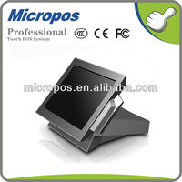 "New design Micropos 15"" all in one touch screen computer for pos for restaurant"