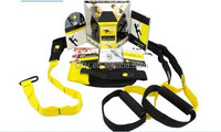 Hot selling Exercise equipment TRX Suspension Trainer Pro Black Trainning Fitness workout,Accept Paypal