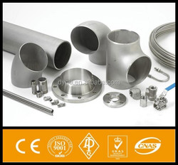 WP316Ti stainless steel elbow, tee, reducer, cap ASME B16.9 ASTM A403
