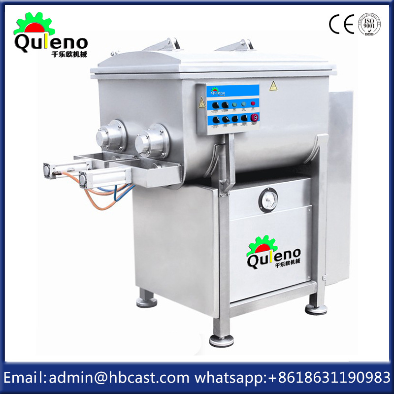 OULENO Automatic mixer sausage production line equipment JBZK300 Vacuum mixer