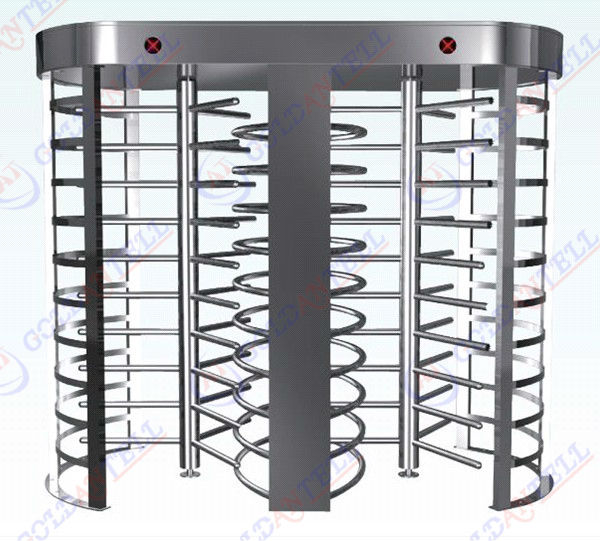 On sale electric Dual-access full height turnstile, OEM full high turnstile