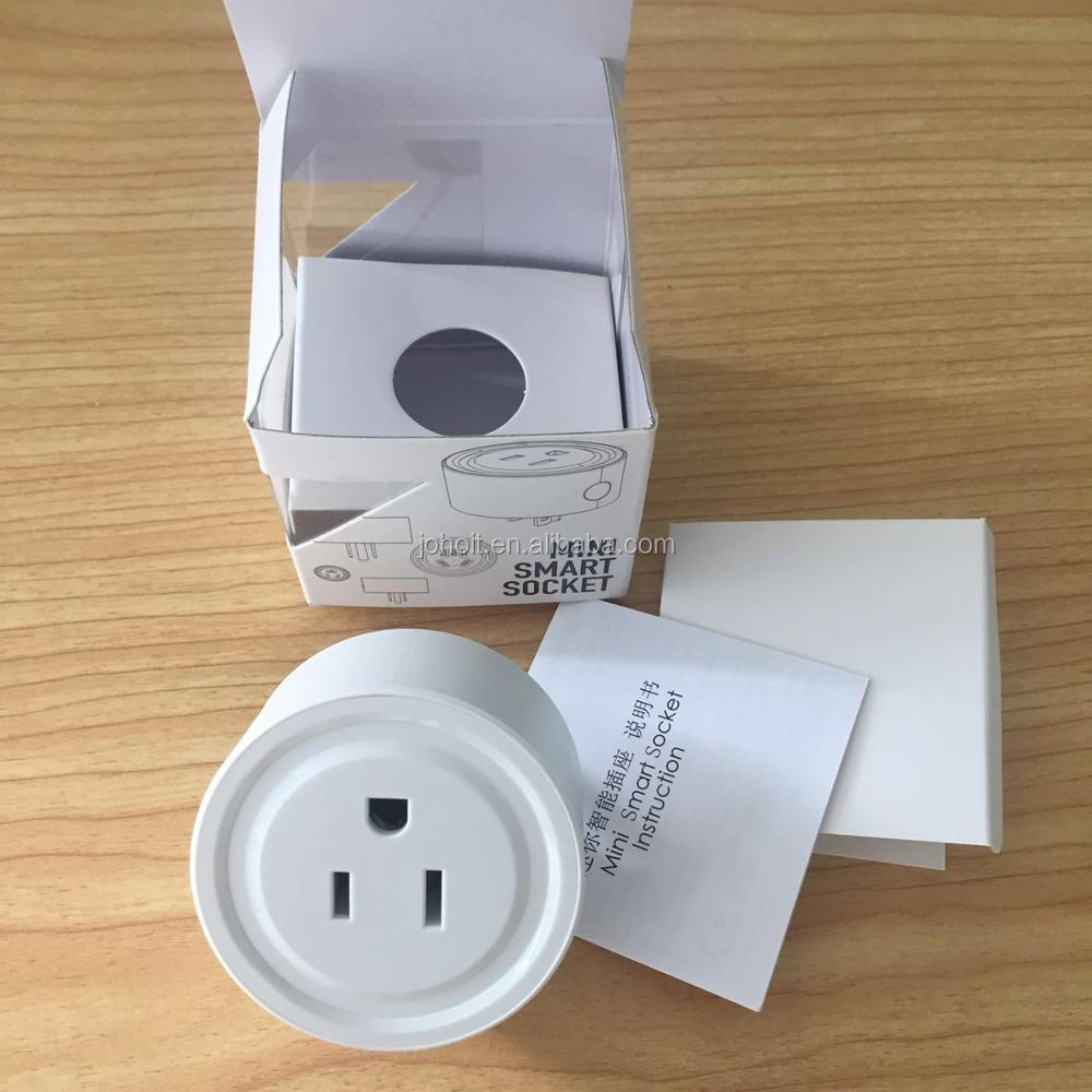 Wifi Smart Plug Socket No Hub Required Timer Outlet Power Switch Wireless Remote Control Turn on/off from Anywhere