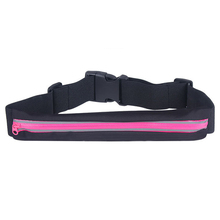 Colorful running waterproof waist bag,lightweight sport waist pack,fitness waist