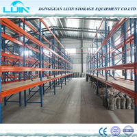 Heavy duty slotted angle iron storage rack