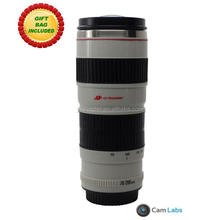 500ml china style best selling stainless steel camera lens coffee cup