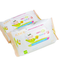 Super Soft Non-woven Fabric Mouth Hand Cleaning Wet Wipes for Baby
