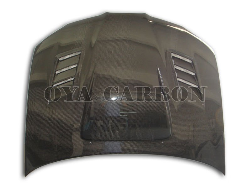 carbon fiber car parts front bonnet for Subaru Imoreza WRX 2006-2007